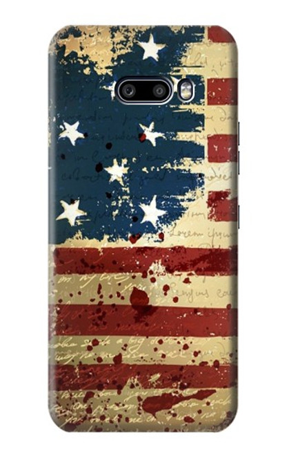 S2349 Old American Flag Case For LG G8X ThinQ