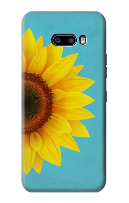 S3039 Vintage Sunflower Blue Case For LG G8X ThinQ