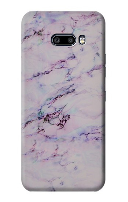 S3215 Seamless Pink Marble Case For LG G8X ThinQ