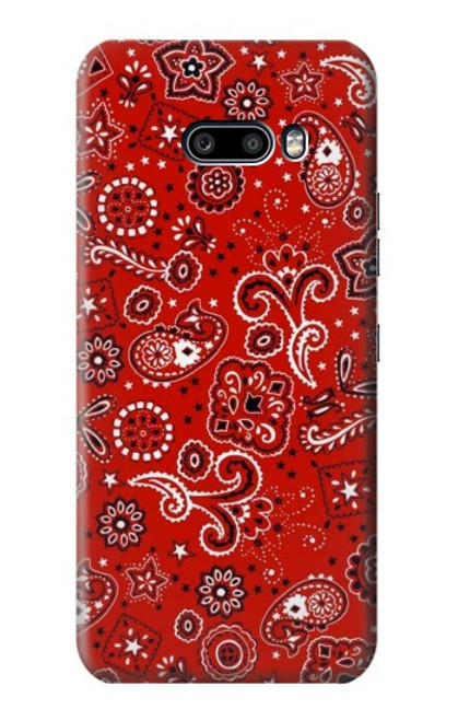 S3354 Red Classic Bandana Case For LG G8X ThinQ