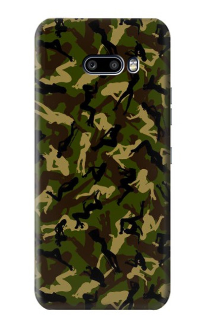 S3356 Sexy Girls Camo Camouflage Case For LG G8X ThinQ