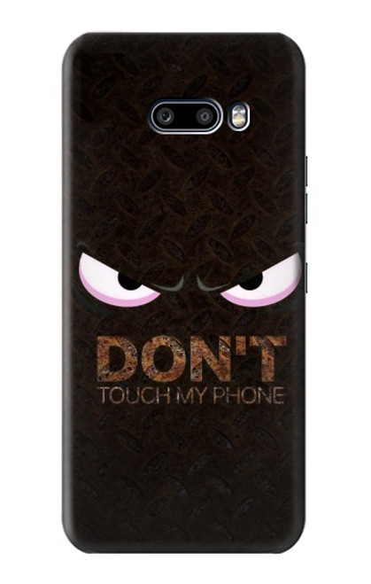 S3412 Do Not Touch My Phone Case For LG G8X ThinQ