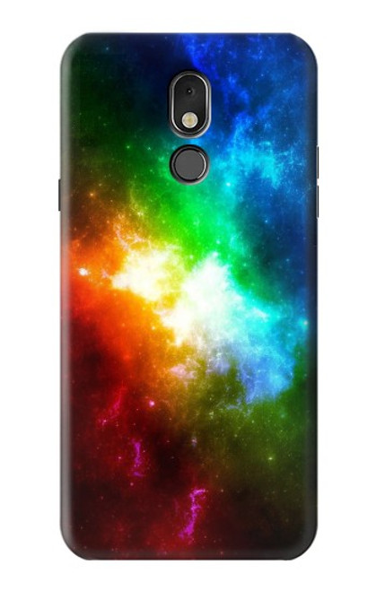 S2312 Colorful Rainbow Space Galaxy Case For LG Stylo 5