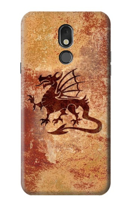 S2485 Dragon Metal Texture Graphic Printed Case For LG Stylo 5