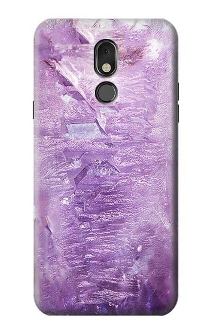 S2690 Amethyst Crystals Graphic Printed Case For LG Stylo 5