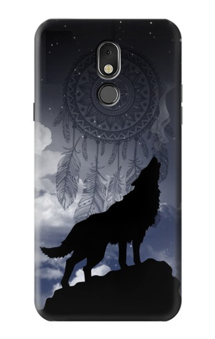 S3011 Dream Catcher Wolf Howling Case For LG Stylo 5
