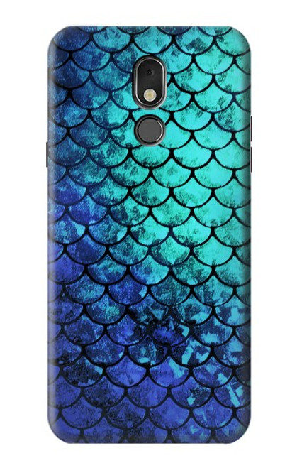 S3047 Green Mermaid Fish Scale Case For LG Stylo 5