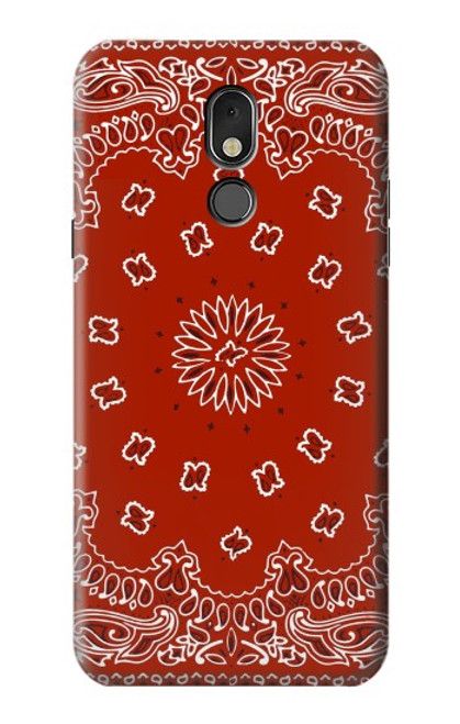 S3355 Bandana Red Pattern Case For LG Stylo 5
