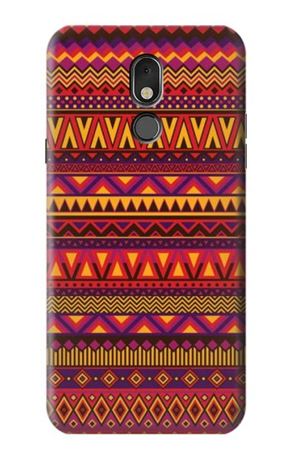 S3404 Aztecs Pattern Case For LG Stylo 5