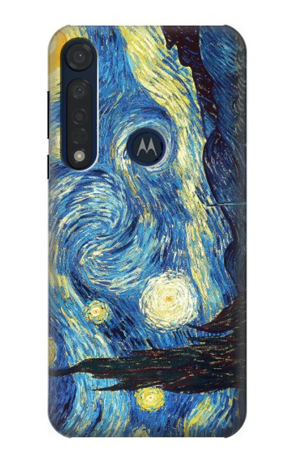 S0213 Van Gogh Starry Nights Case For Motorola Moto G8 Plus