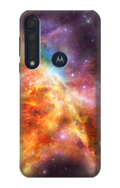 S1963 Nebula Rainbow Space Case For Motorola Moto G8 Plus