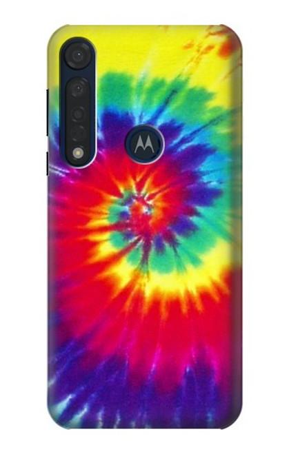 S2884 Tie Dye Swirl Color Case For Motorola Moto G8 Plus