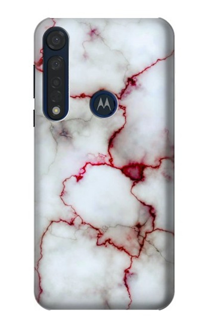 S2920 Bloody Marble Case For Motorola Moto G8 Plus