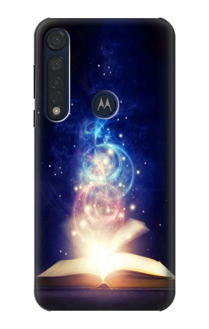 S3554 Magic Spell Book Case For Motorola Moto G8 Plus