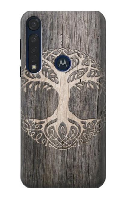 S3591 Viking Tree of Life Symbol Case For Motorola Moto G8 Plus