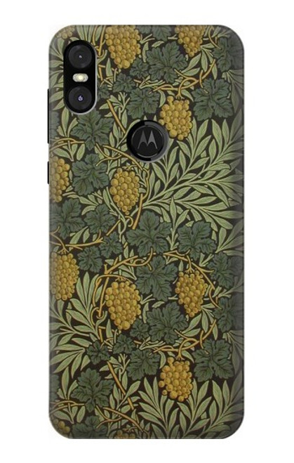 S3662 William Morris Vine Pattern Case For Motorola One (Moto P30 Play)