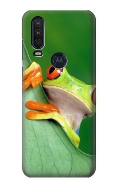 S1047 Little Frog Case For Motorola One Action (Moto P40 Power)