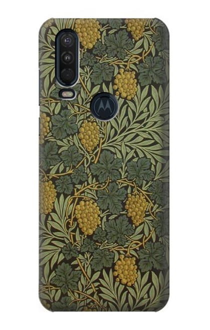 S3662 William Morris Vine Pattern Case For Motorola One Action (Moto P40 Power)