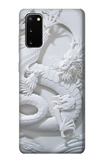 S0386 Dragon Carving Case For Samsung Galaxy S20