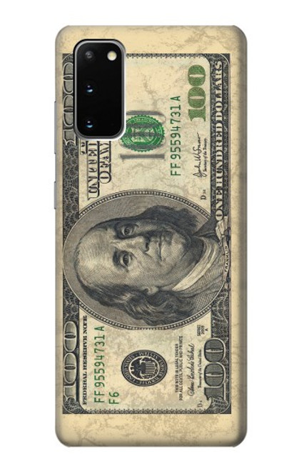 S0702 Money Dollars Case For Samsung Galaxy S20