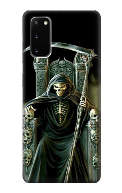 S1024 Grim Reaper Skeleton King Case For Samsung Galaxy S20