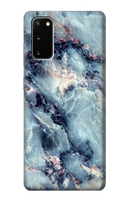 S2689 Blue Marble Texture Graphic Printed Case For Samsung Galaxy S20