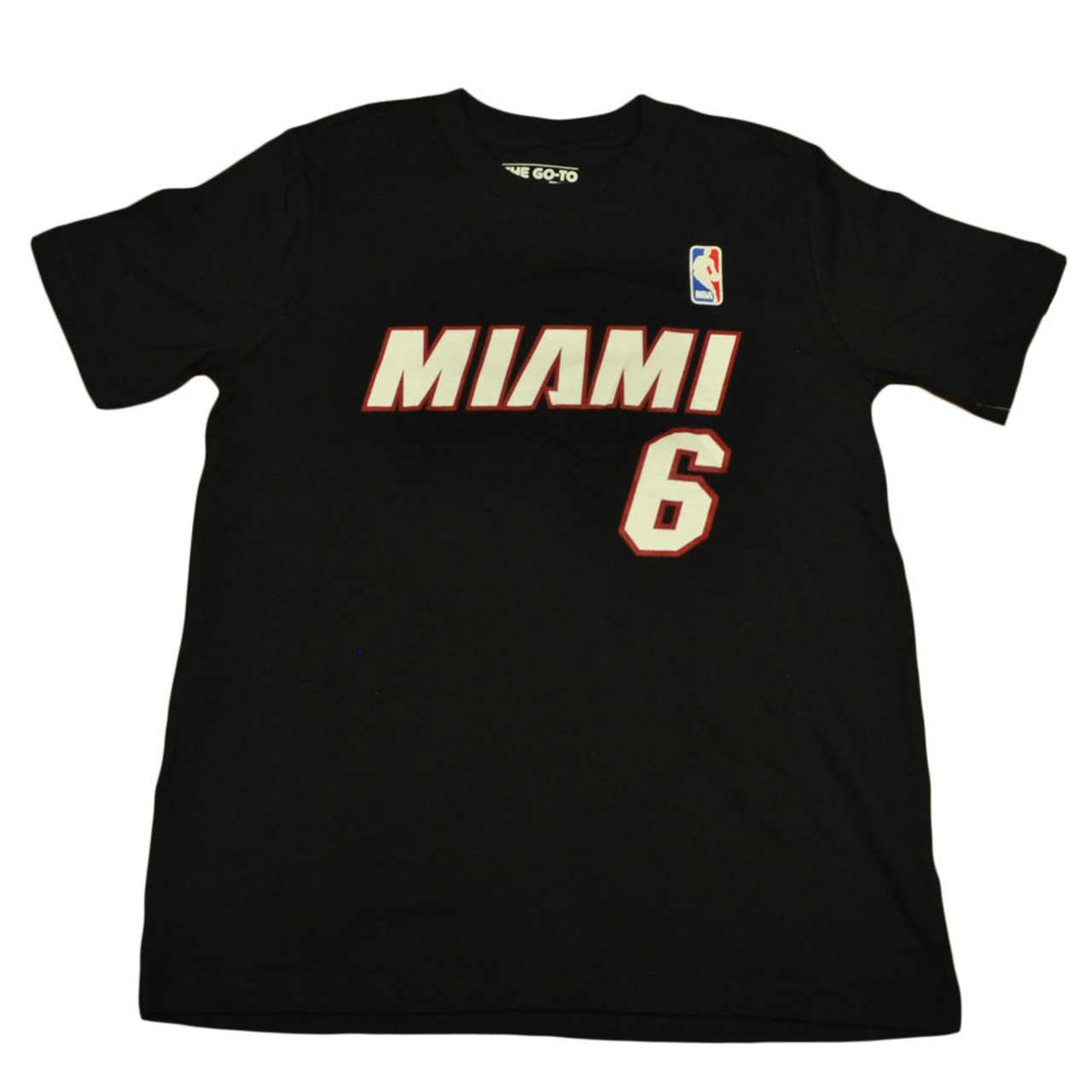 3a46184c72e Adidas NBA Miami Heat Youth Name And Number Lebron James Tshirt Tee Medium  10 12 - Sinbad Sports Store