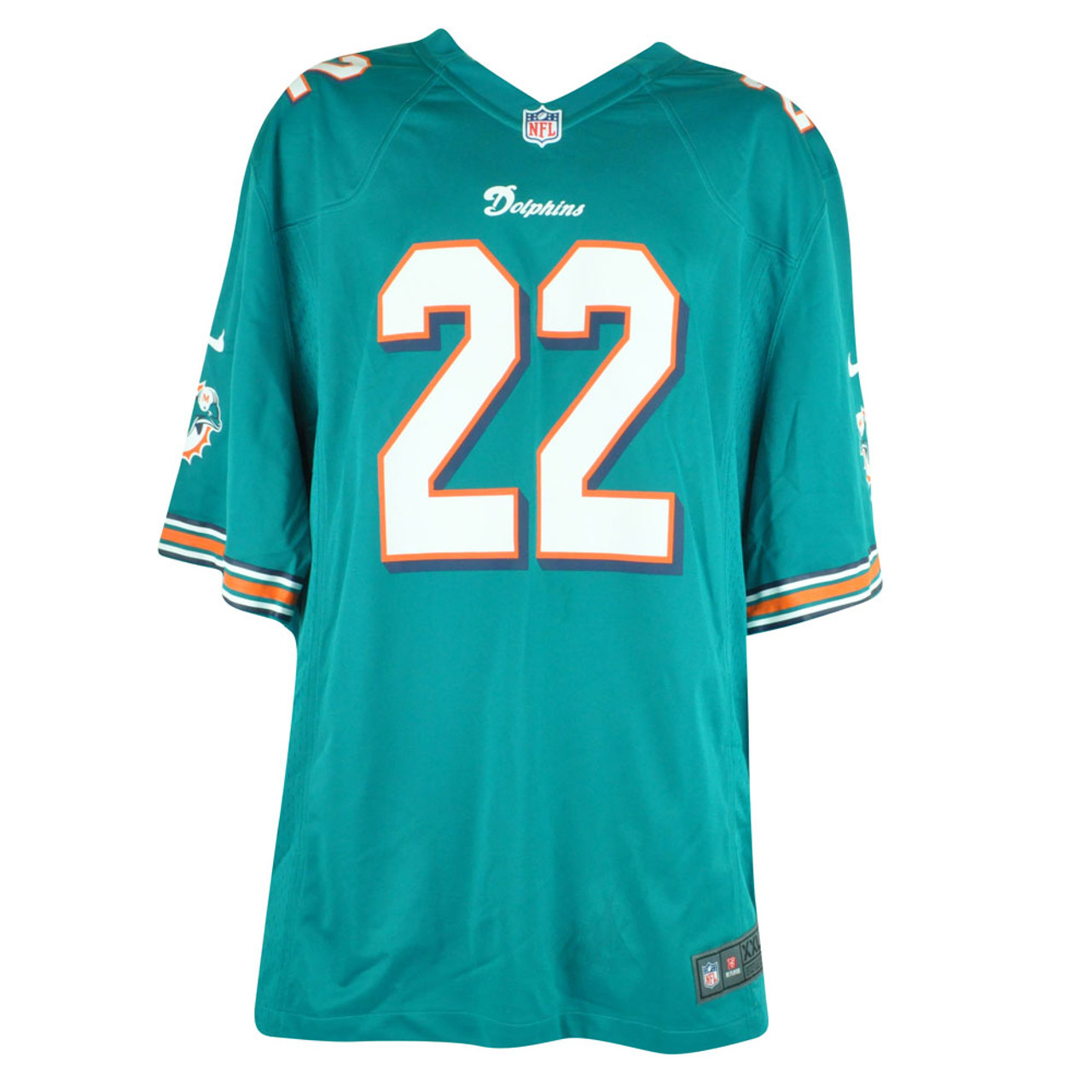NFL Nike Miami Dolphins Reggie Bush #22 Home Limited Mens Jersey DJ6004 2XLarge