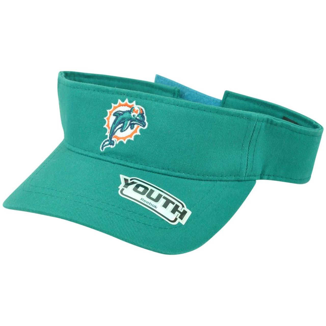 Nice NFL Miami Dolphins Reebok Official Youth Adjustable Velcro Logo