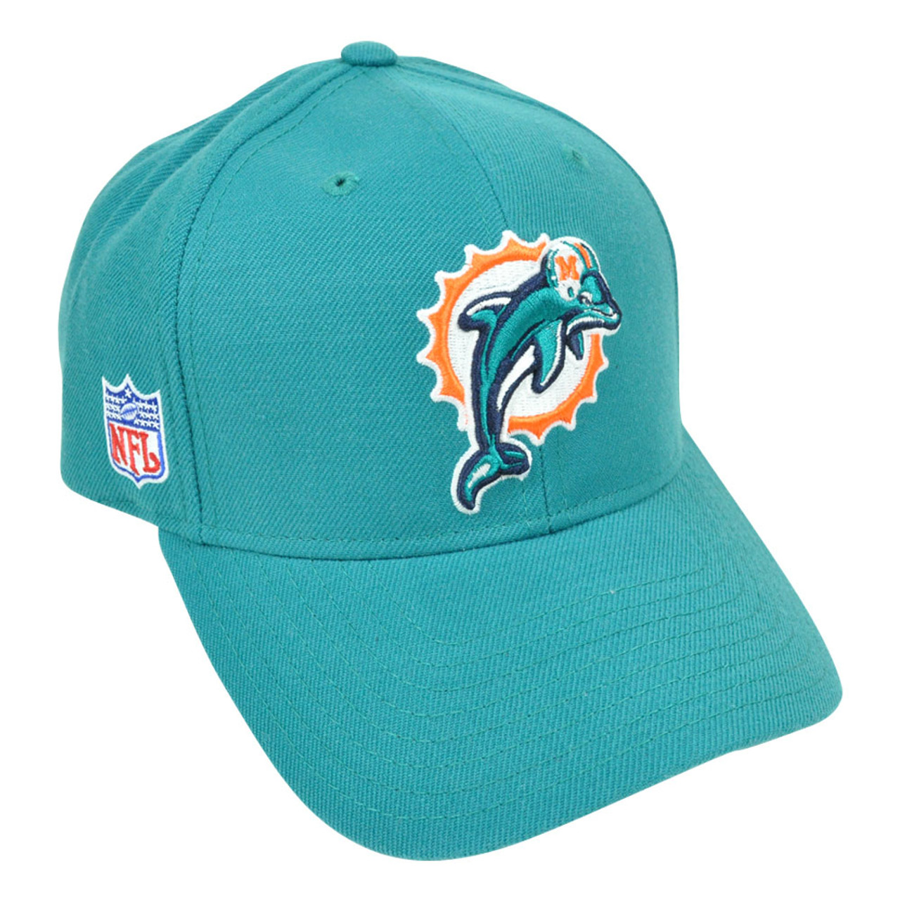NFL Miami Dolphins Reebok Rbk Curved Bill Constructed Licensed Hat Cap - Sinbad  Sports Store ea31d5693