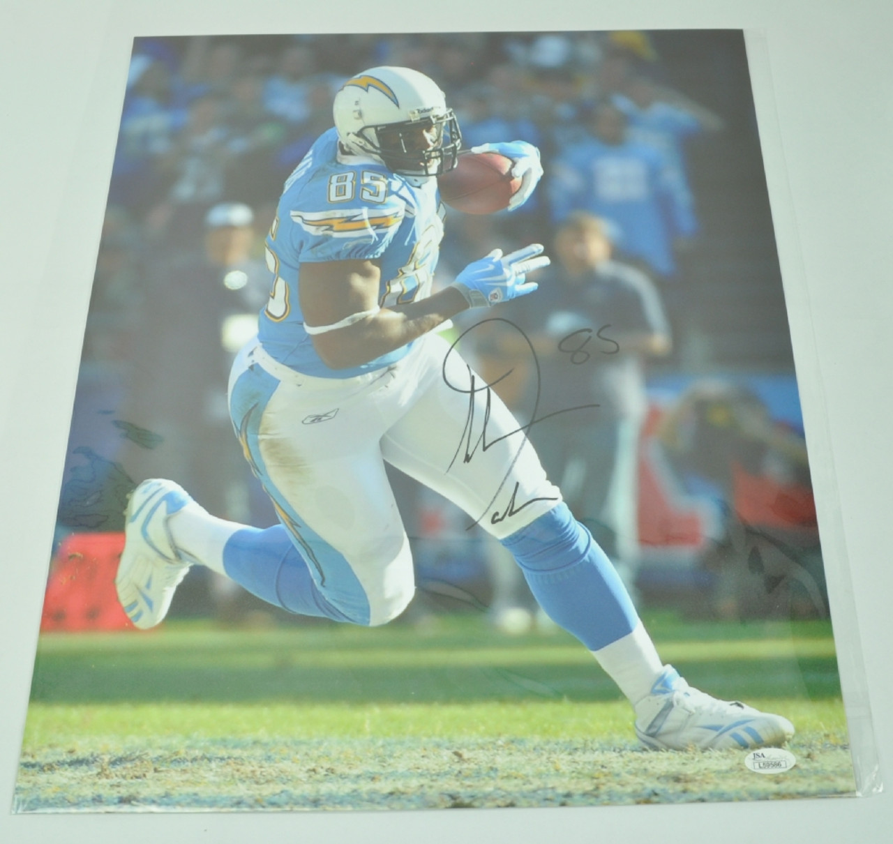 ab02e24b NFL Los Angeles Chargers Tight End Antonio Gates 85 Signed Autographed  16x20 Photo JSA - Sinbad Sports Store
