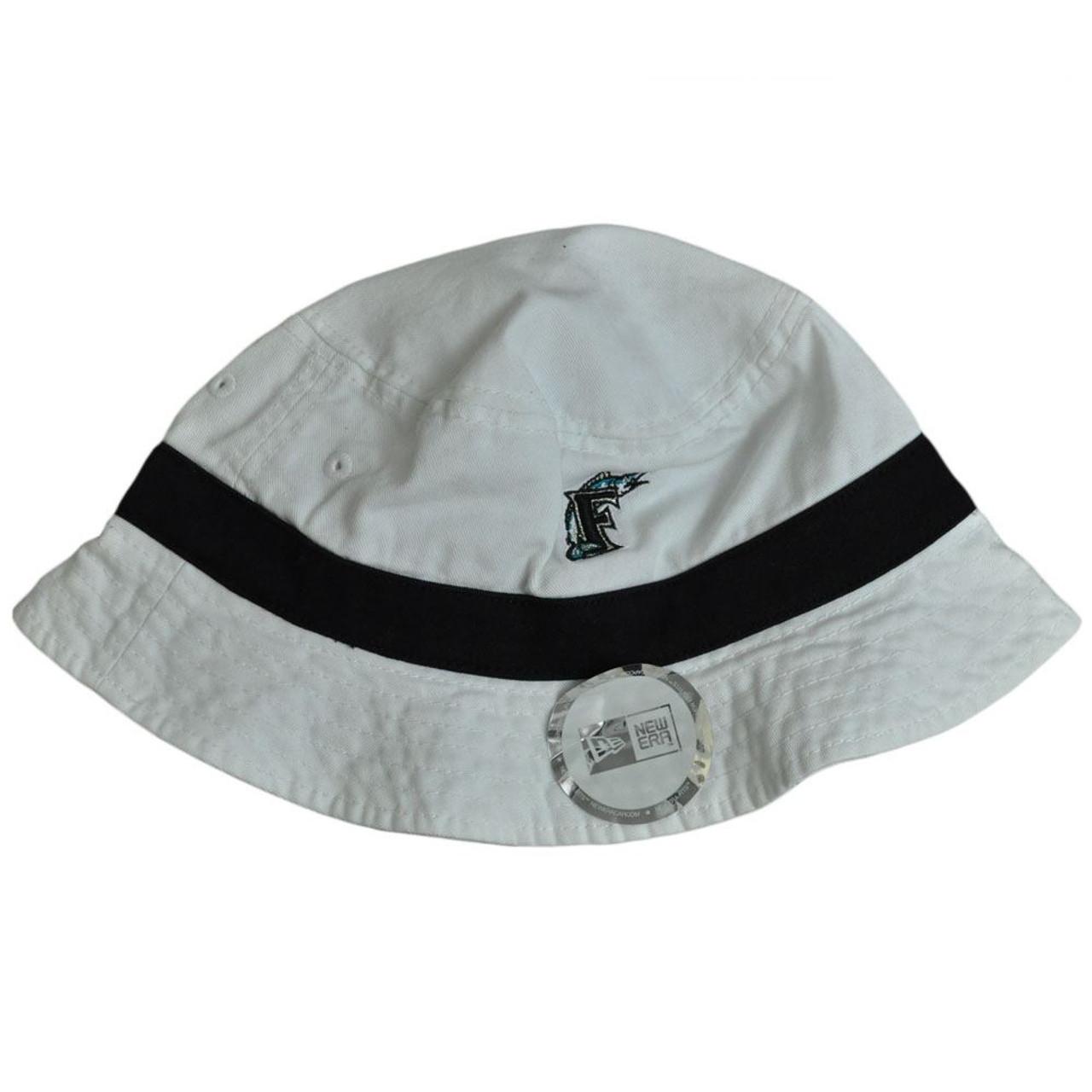 MLB Florida Marlins Baseball New Era One Size Sun Bucket Beach Hat Cap  Licensed cd7252ee5322