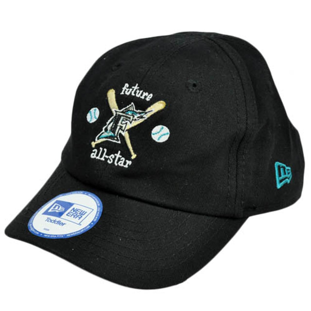 MLB Florida Marlins Future All Star Youth Toddler Baby Boy Stretch Black  Hat Cap 8cf7258f7851