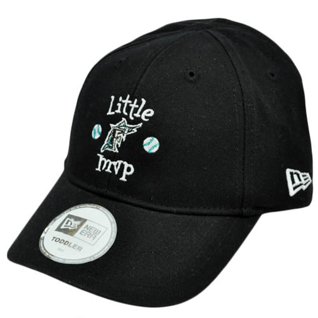 wholesale dealer c3432 7d90a MLB Florida Marlins Little MVP Youth Toddler Baby Boy Black Stretch Band  Hat Cap - Sinbad Sports Store