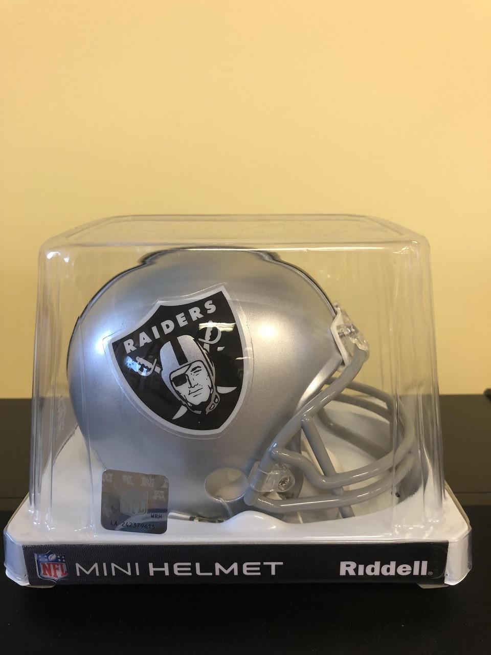 buy online 5722b 95beb NFL Oakland Raiders Riddell Mini Helmet