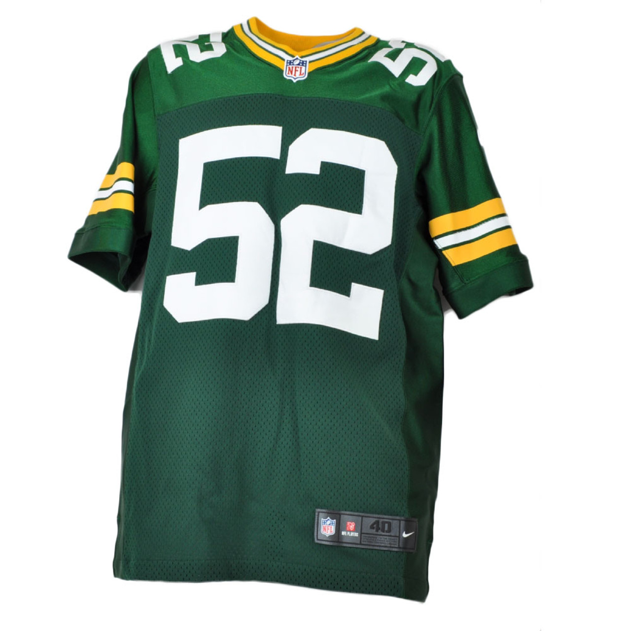 NFL Green Bay Packers Clay Matthews III Nike On Field Authentic Jersey Mens Adult