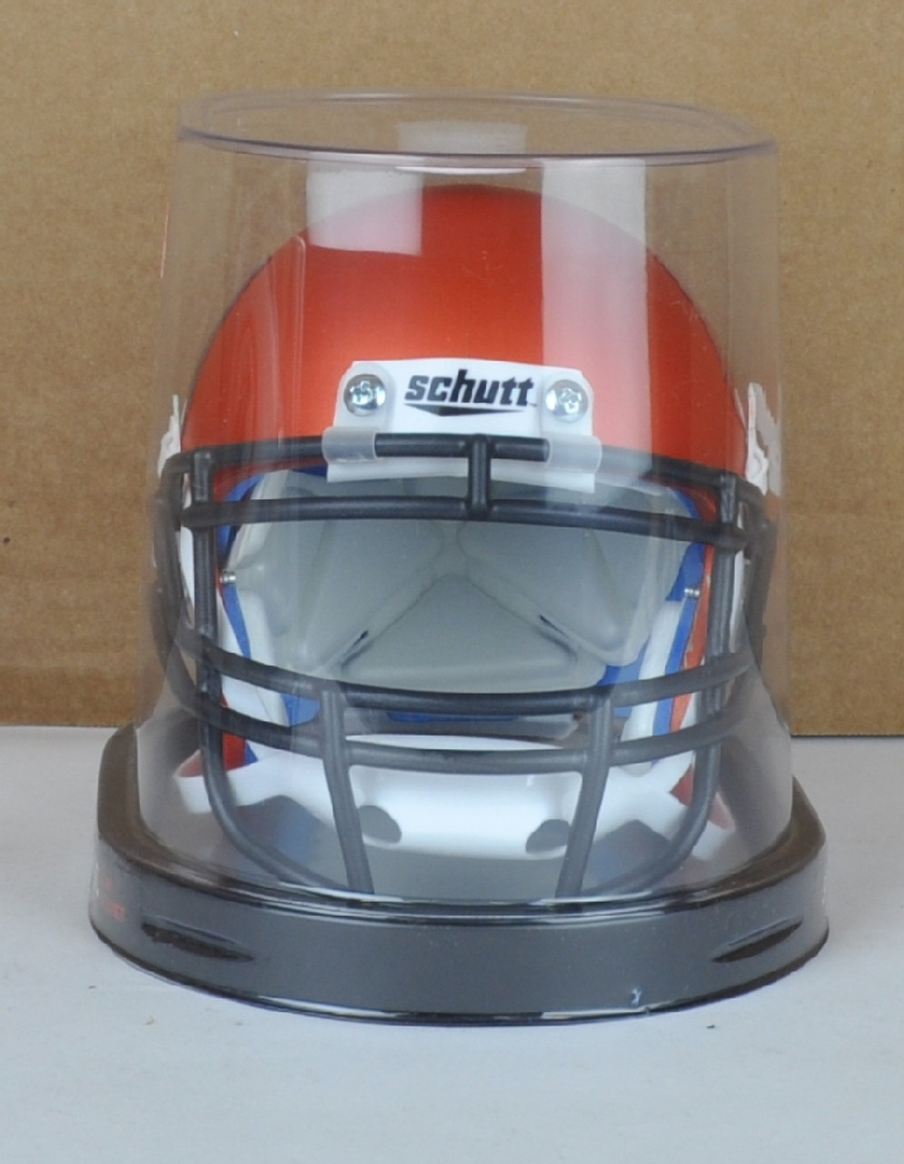 Orange Riddell NCAA Miami Hurricanes Speed Mini Helmet Small