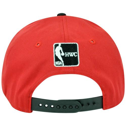 ... NBA  47 Brand HWC Miami Heat Logo Glowdown 5 Panel Snapback Flat Bill  Hat Cap c8726af15
