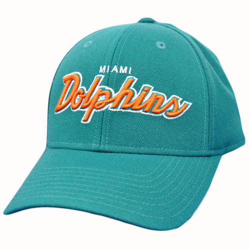 NFL Miami Dolphins Turquoise Reebok Hat Cap One Size Fits All Licensed  Garment ... f794f0812