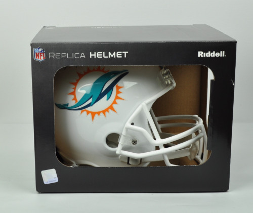 ... NFL Miami Dolphins Running Back Frank Gore 21 Signed Autographed  Riddell White Full Size Replica Helmet fe519a9a8