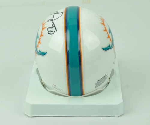 2fe1047b NFL Miami Dolphins Safety Reshad Jones 20 Signed Autographed Riddell Mini  Helmet JSA