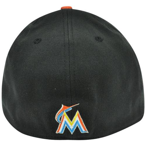 265f6fbf866 ... MLB Miami Marlins New Era 3930 39Thirty Double Edge Stretch Flex Fit S M  Hat