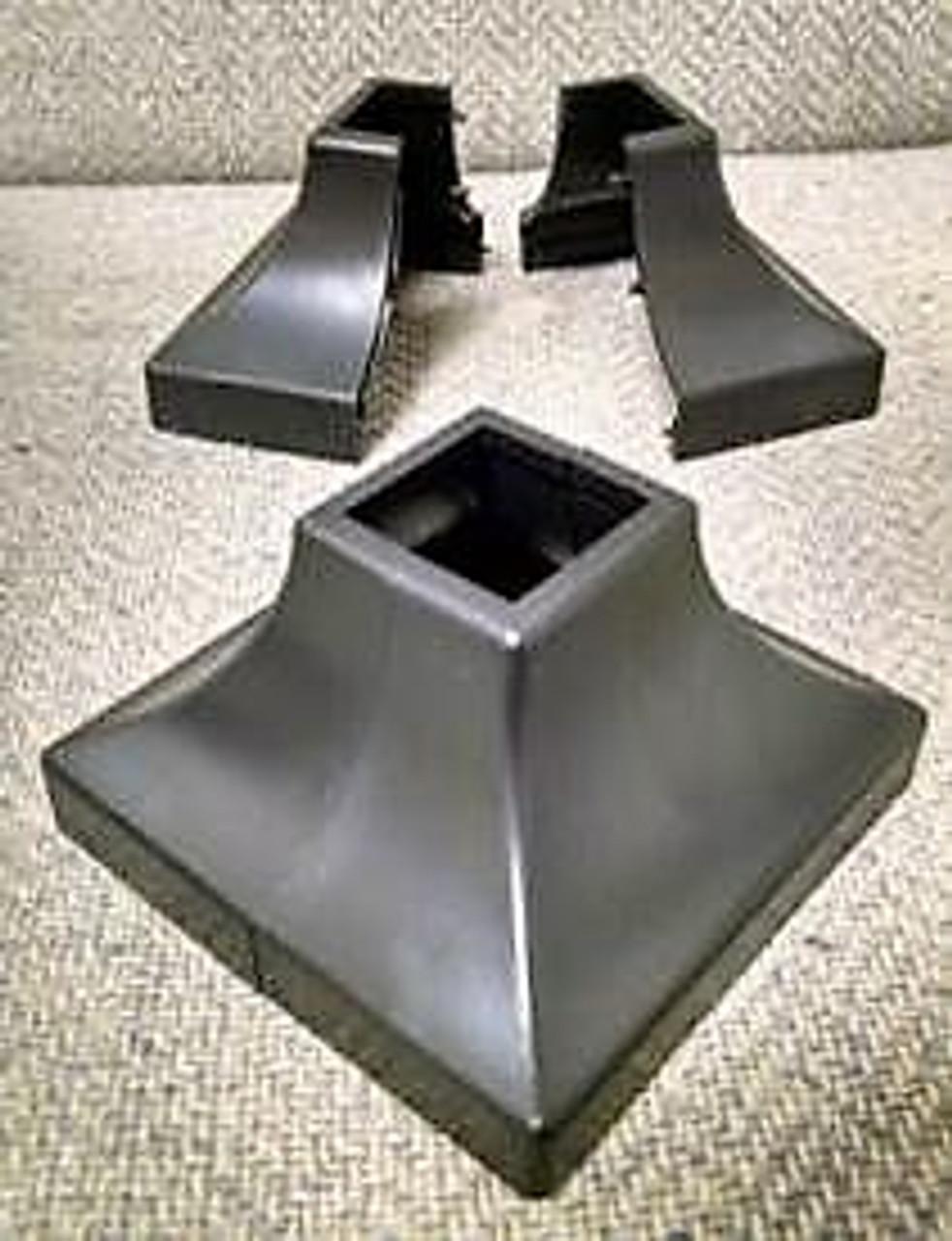 "1/"" or 1 1//2/"" Square Bars Plastic Simshoe 10 Pack 1 1//4/"""