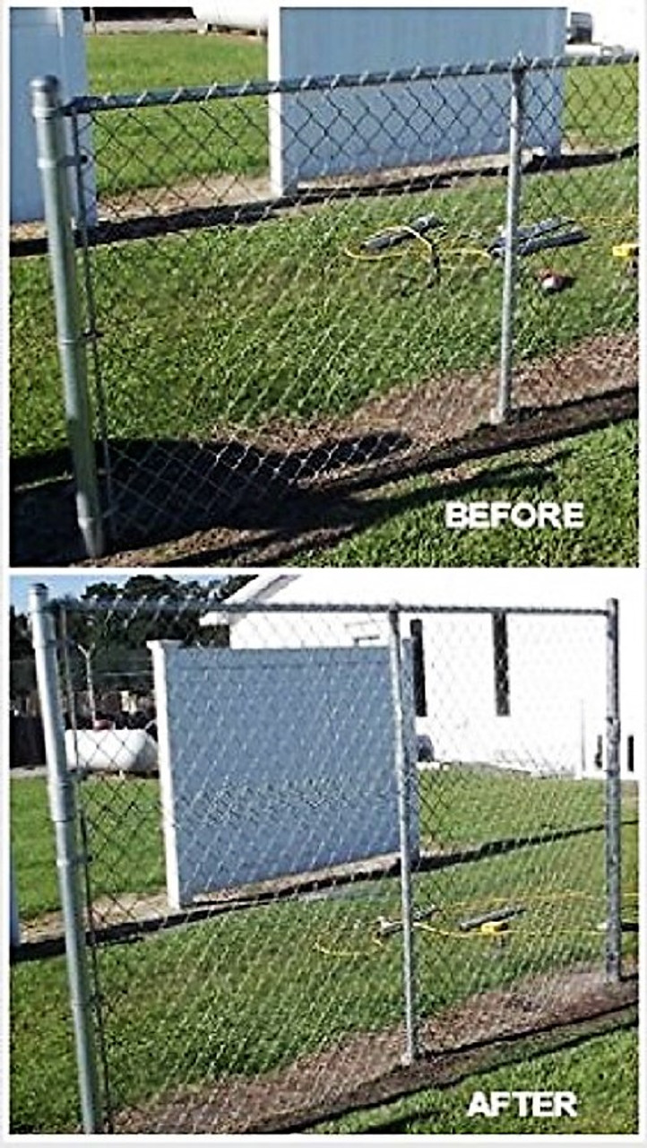 EXTEND-A-FENCE Fence Extender - 2-3/8