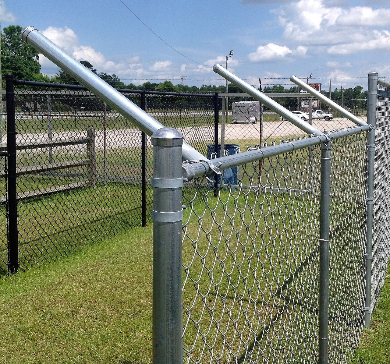 extend a post extensions for chain link fence set of 9 the rh thefencedepartment com chain link fencing cost chain link fencing near me
