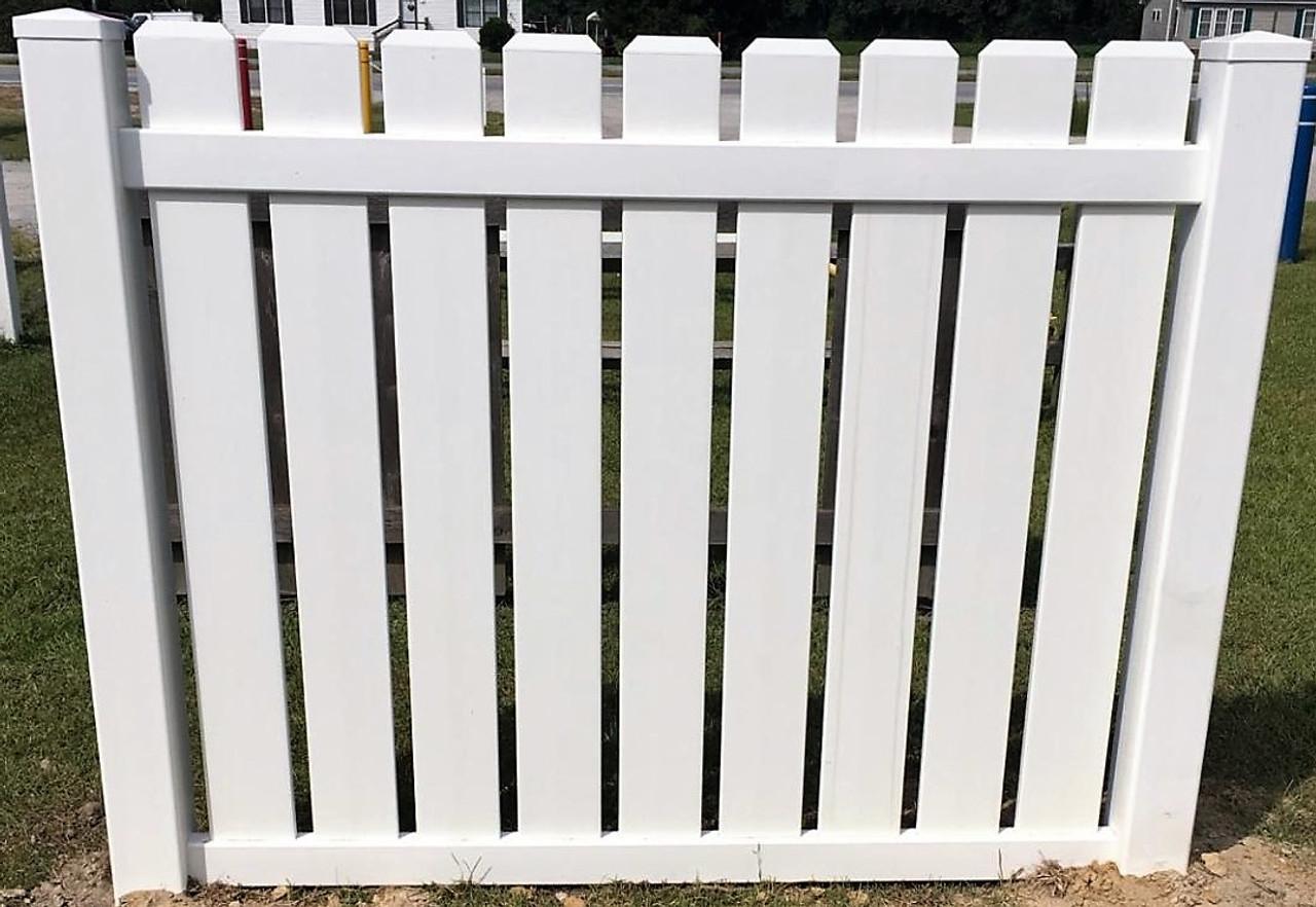 Pvc Vinyl Fence Panel Dog Ear Pickets 5 High X 6