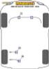 Powerflex Front Anti Roll Bar Mount 29mm - E65/E66/E67 7 Series (2001 - 2008) - PFF5-703-29