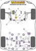 Powerflex Steering Rack Mounting Bush - Golf Plus 5M - PFF85-533