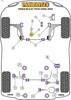 Powerflex Steering Rack Mounting Bush - Passat B6 & B7 Typ3C (2006-2013) - PFF85-533
