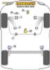 Powerflex Track Lower Torque Mount (Track/Msport) - Scenic II (2003-2009) - PFF60-8025BLK